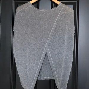 Lululemon soft split back top size medium